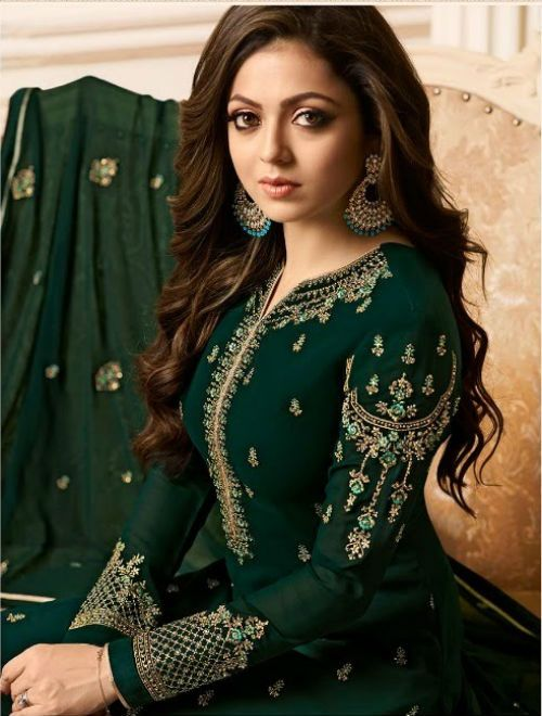 6aeb660222 Advertisement; Advertisement; Advertisement; Lt Nitya Vol 126 Vaishnavi  Georgette With Heavy Embroidery Suits 2607