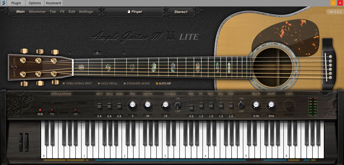 Ample Sound Releases Free Ample Guitar M Lite Ii Virtual Instrument Guitar Instruments Electro Acoustic Guitar