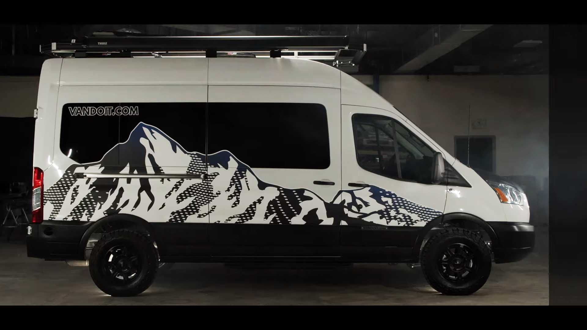 first ford transit online