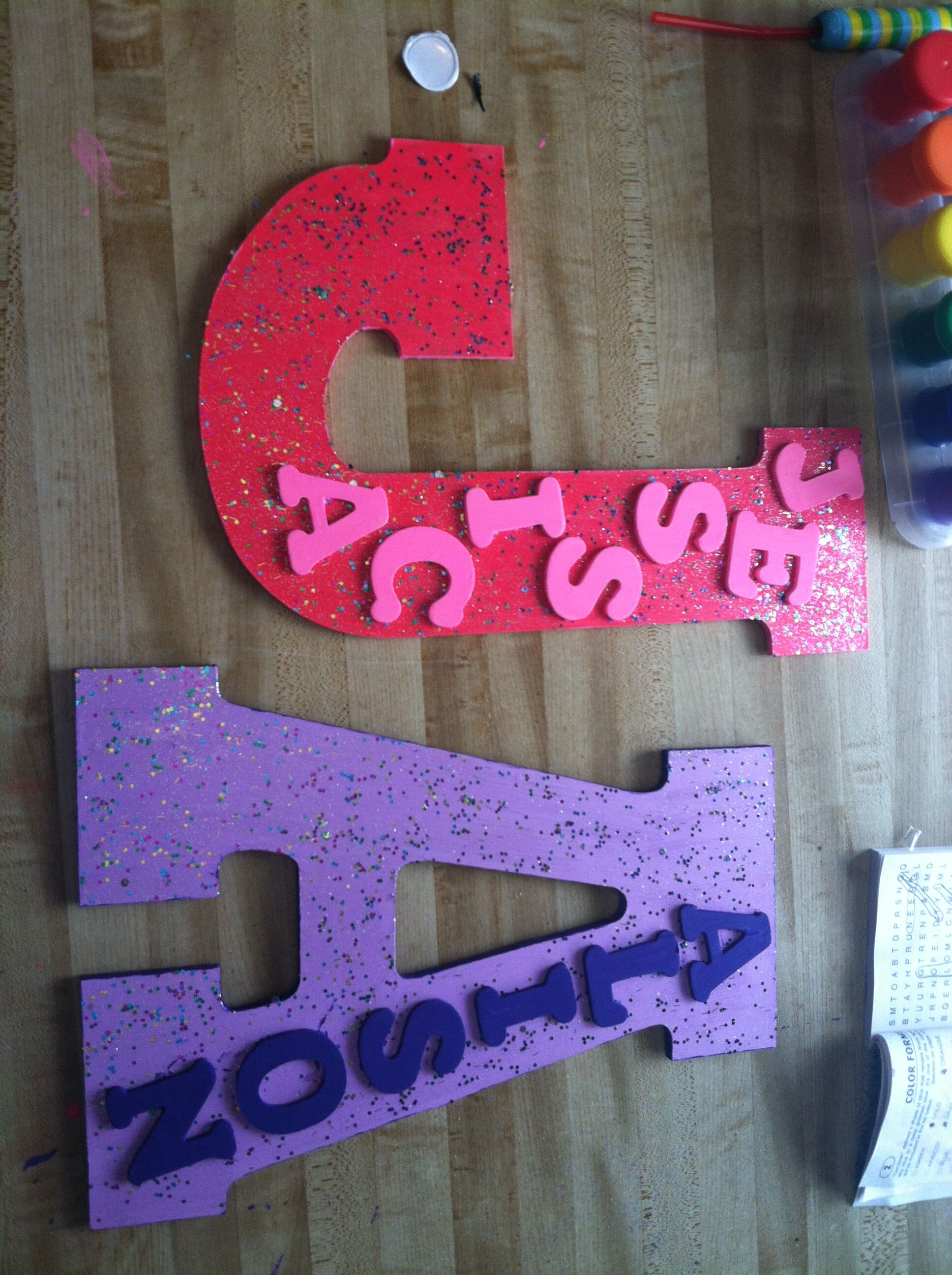 Diy Name Plates Great For Bedroom Doors Craft Ideas Pinterest Bedroom Doors And Door Plaques