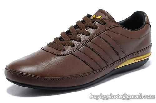 Leisure Men's Head Porsche Design Full Shoes Adidas Leather Brown S3 SMzpqLVGU
