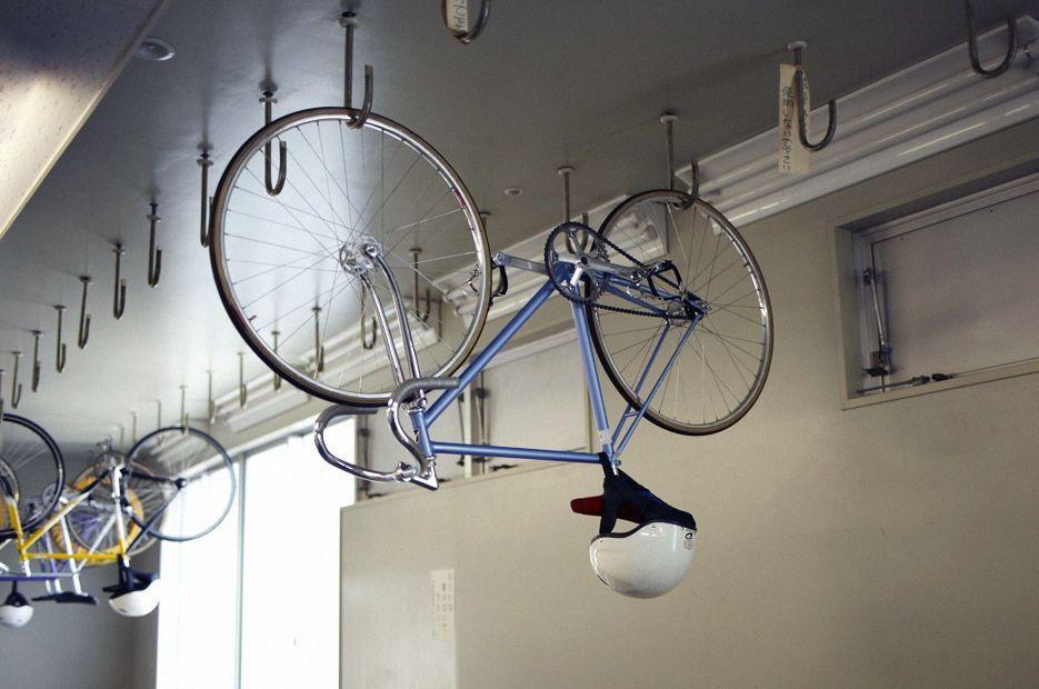 Keirin Track Bike Ceiling Storage Hooks Household