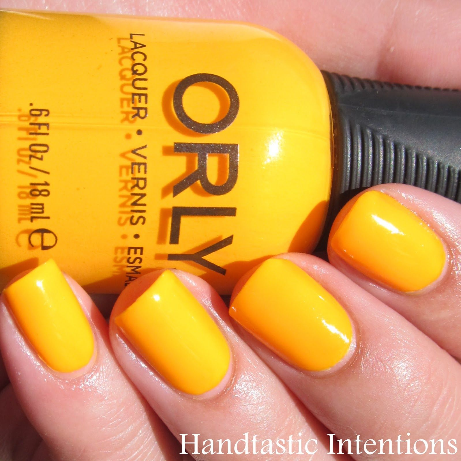 Swatch and Review of Orly Tropical Pop Nail Polish from their Baked ...