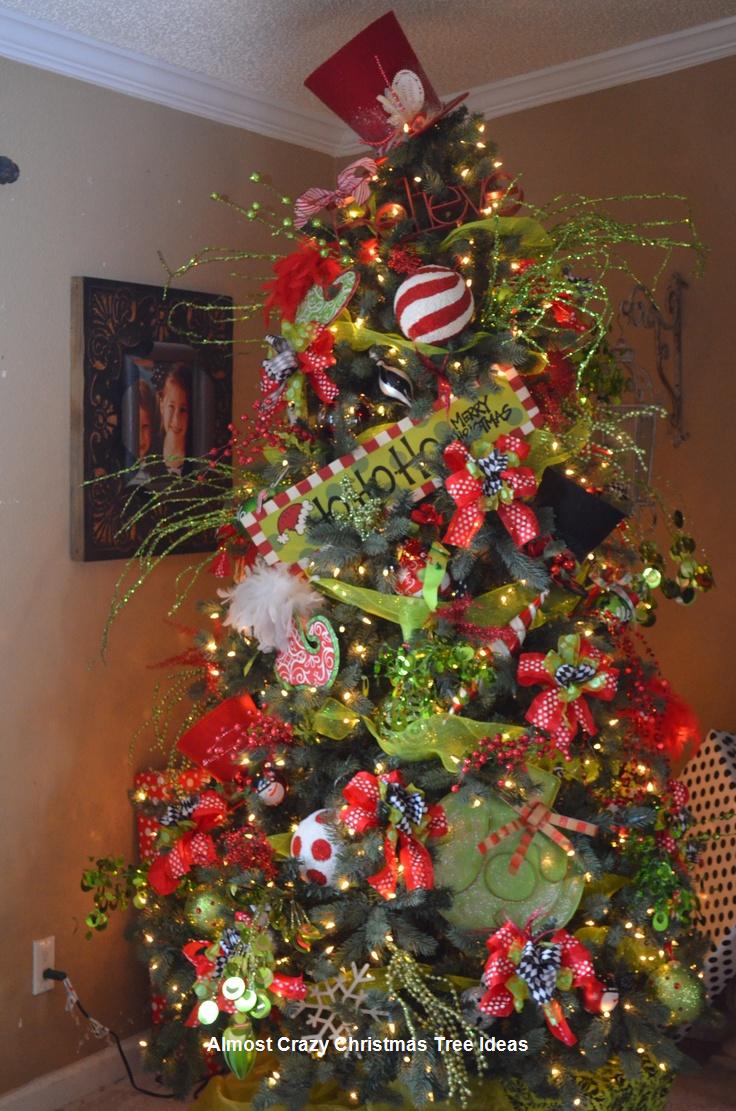 18 Almost Crazy Christmas Tree Ideas Christmas Tree Decorations Christmas Christmas Tree