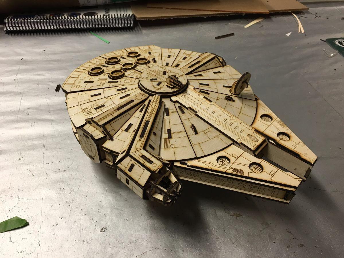 Naves Star Wars Para Armar En Mdf 300 00 En Mercadolibre Cnc