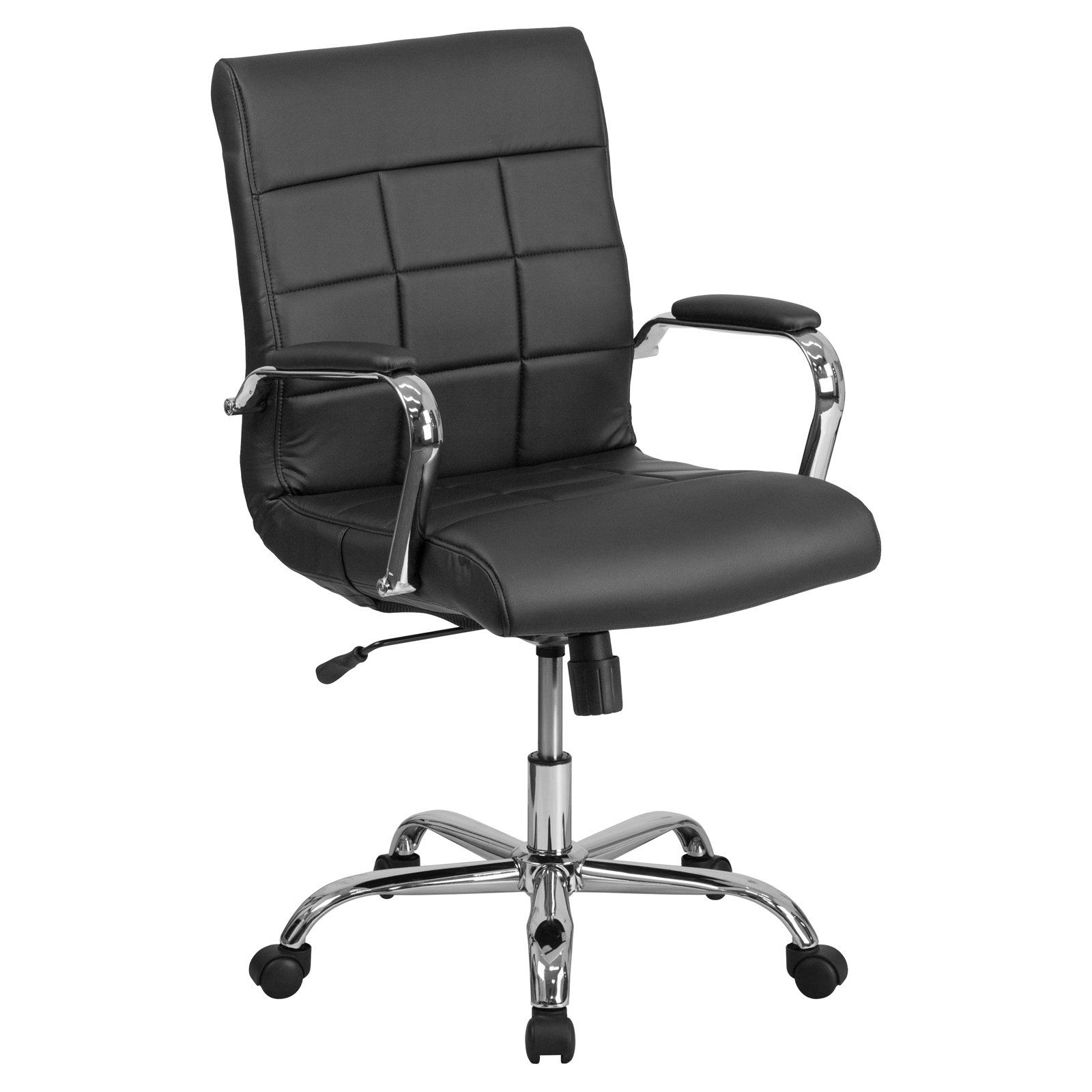 Astounding Flash Furniture Mid Back Vinyl Executive Swivel Office Chair Home Interior And Landscaping Ponolsignezvosmurscom