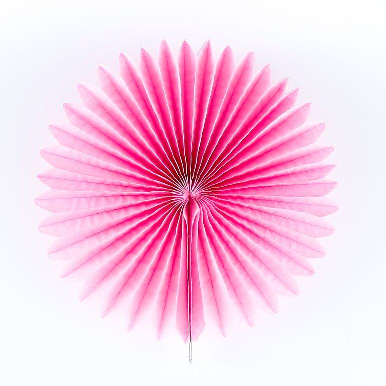 22816 rose pink medallion 12 inch