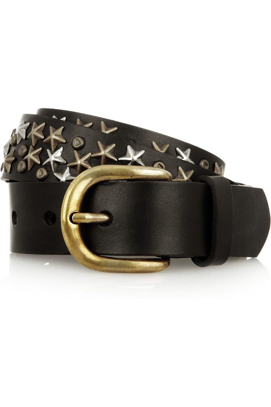 gold-toned hardware belt - Pink & Purple Isabel Marant gNsfnBQY