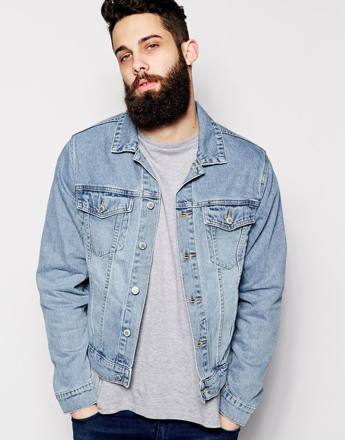 Denim Jacket Staple Sky Light Wash | Shops, Mondays and Jackets