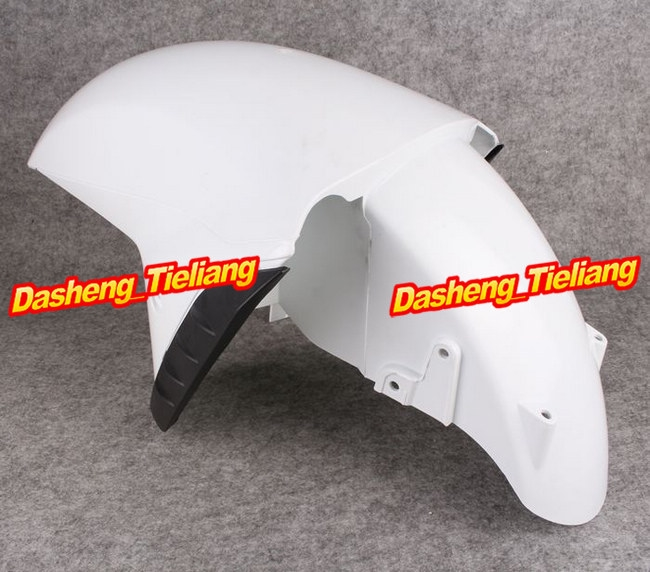 58.68$  Buy now - http://ali4ij.shopchina.info/1/go.php?t=1729366945 - Unpainted White ABS Plastic Front Fender Fit for Kawasaki Ninja 2012 ZX14R ZX1400F ABS Motorcycle Injection Fairing Cover Parts  #buychinaproducts
