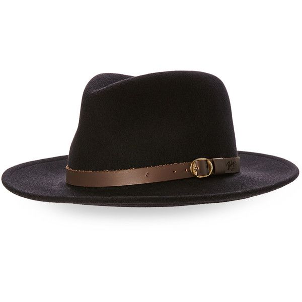Bailey Wool Felt Fedora ( 30) ❤ liked on Polyvore featuring men s fashion a0a811ce0f6