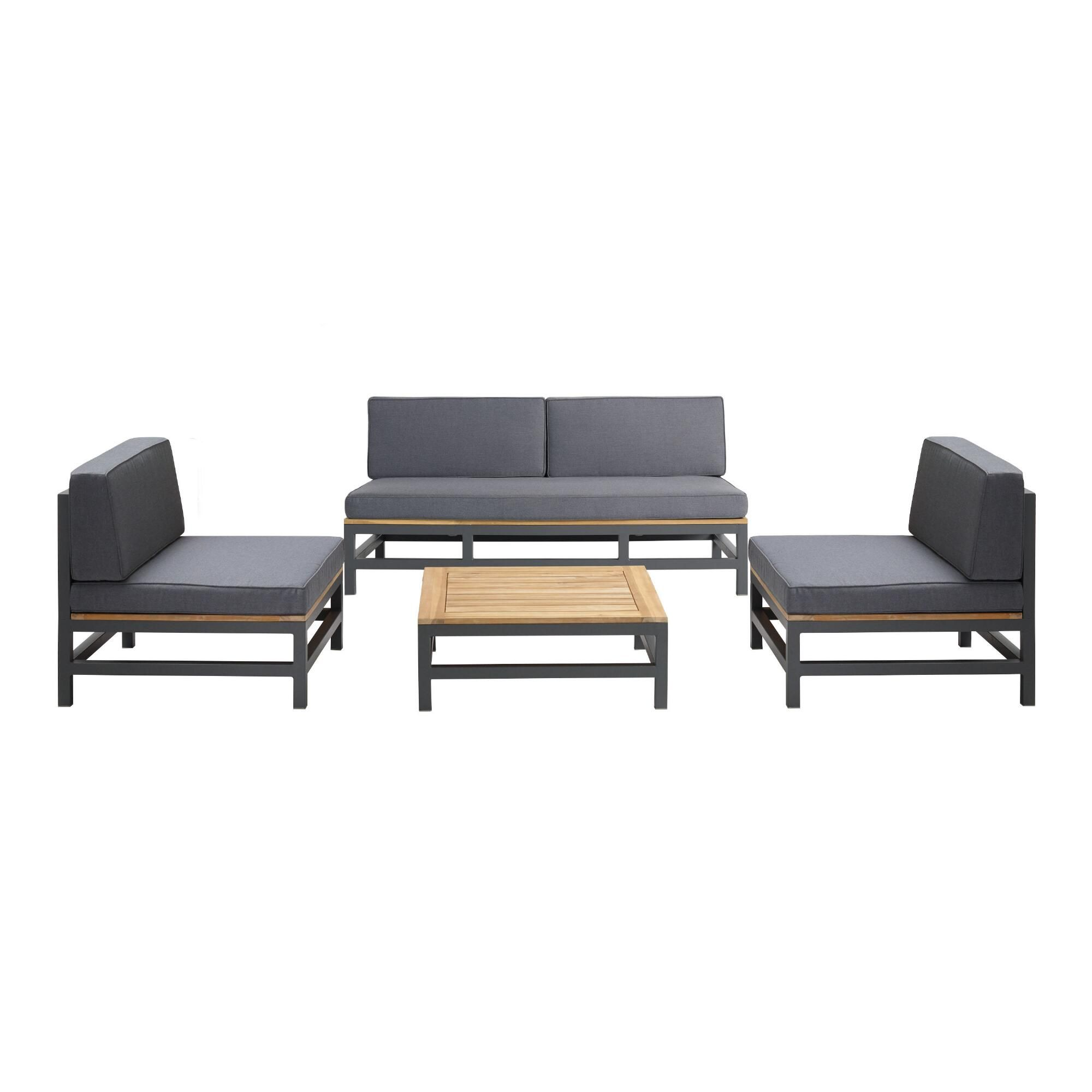 Alicante 4 Piece Outdoor Occasional Set V1 In 2020 Outdoor Furniture Sets Lounge Furniture Affordable Home Decor
