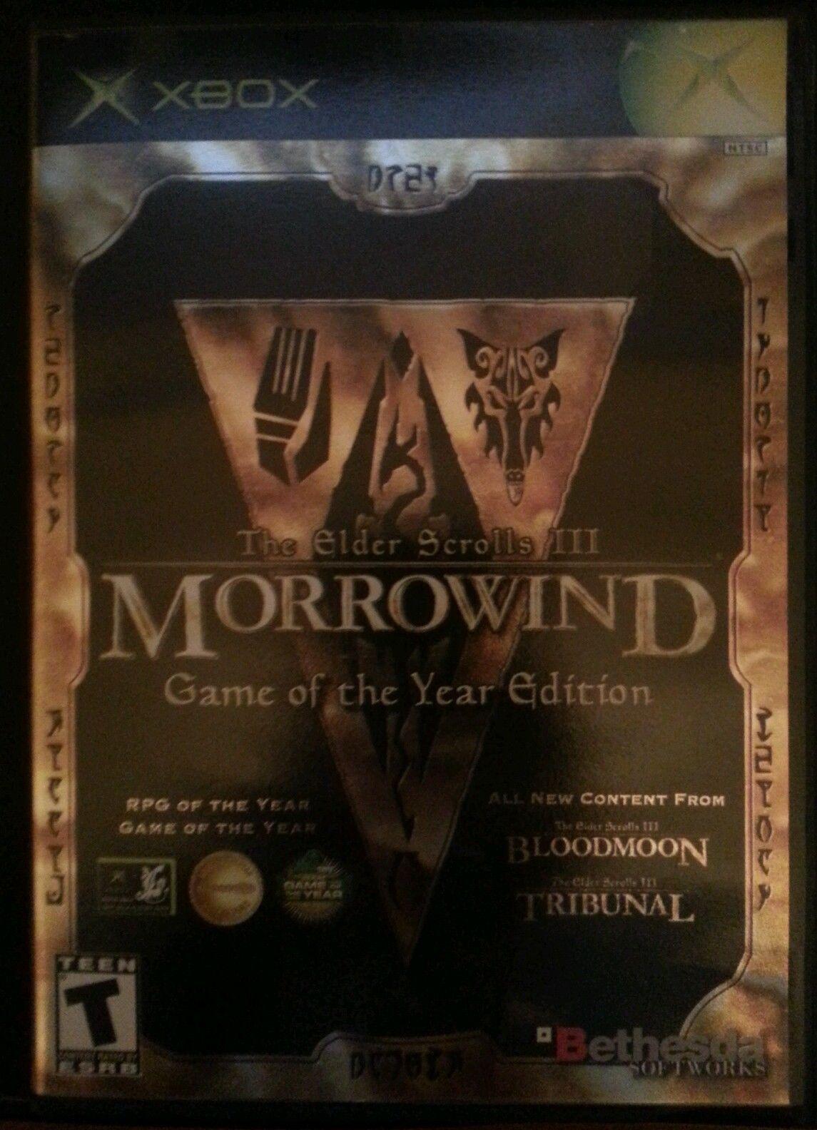 Elder Scrolls III: Morrowind -- Game of the Year Edition  (Xbox, 2003)