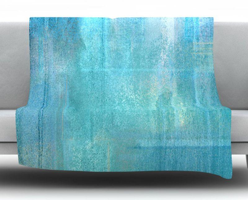 Eye Candy by CarolLynn Tice Fleece Throw Blanket