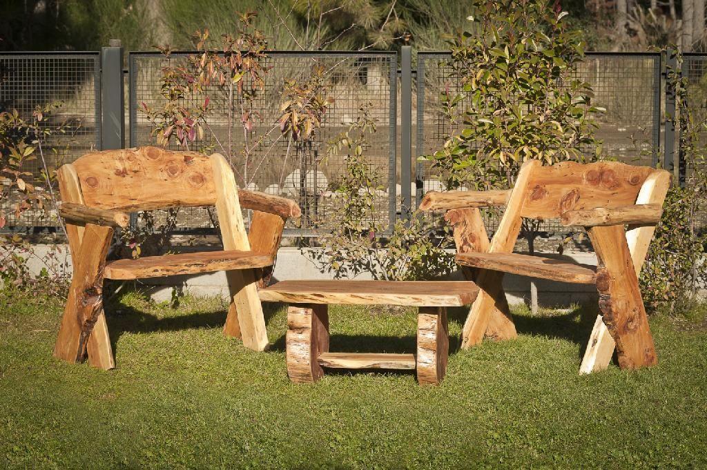 Patagonia Rústica | Muebles de madera en Bariloche | bench ... - photo#1