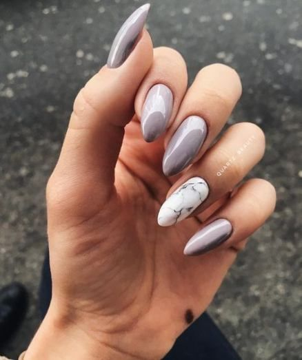 Best Nails Design Marble Manicures Ideas