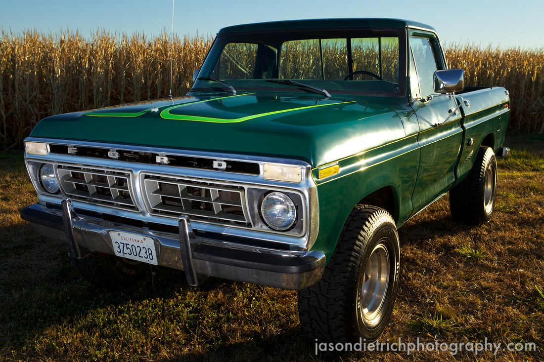 1976 ford f100 the year i was born