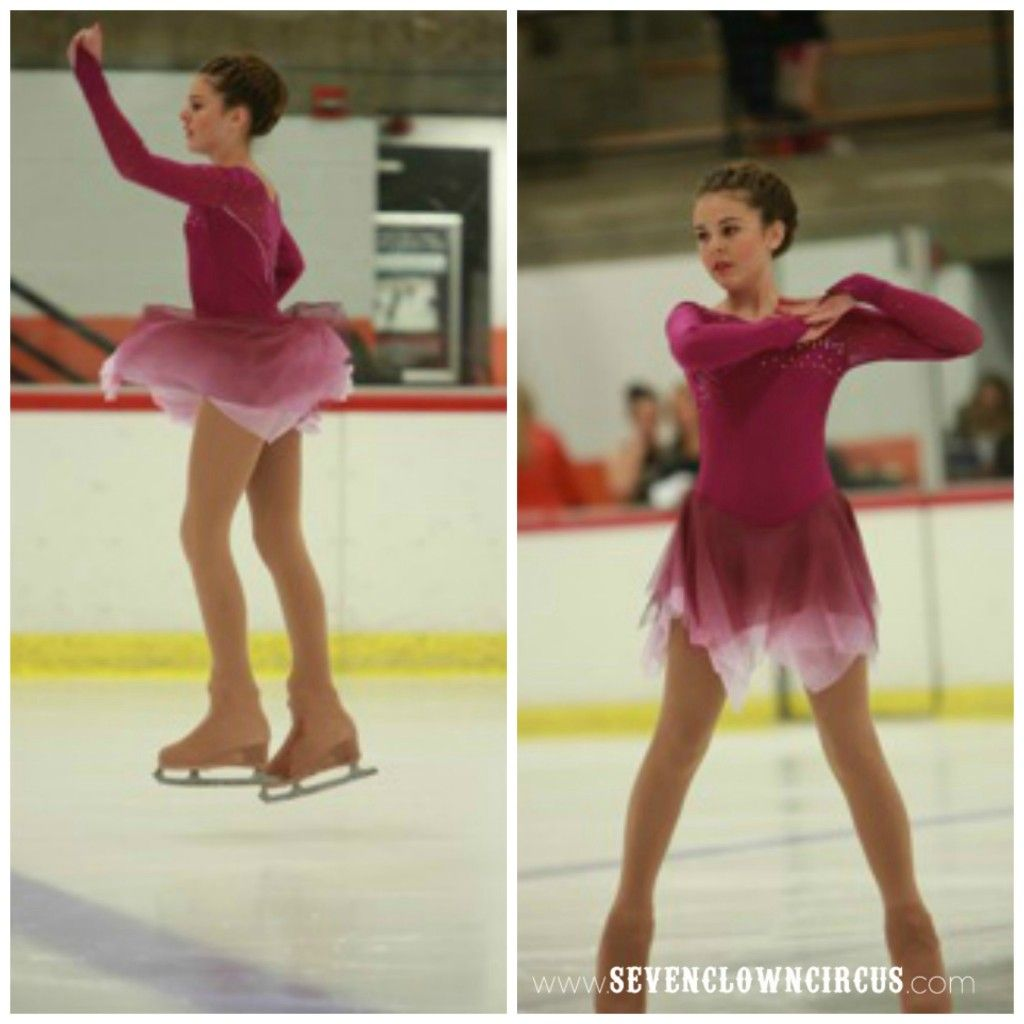 Empower female athletesalexandra and sofia skating ad