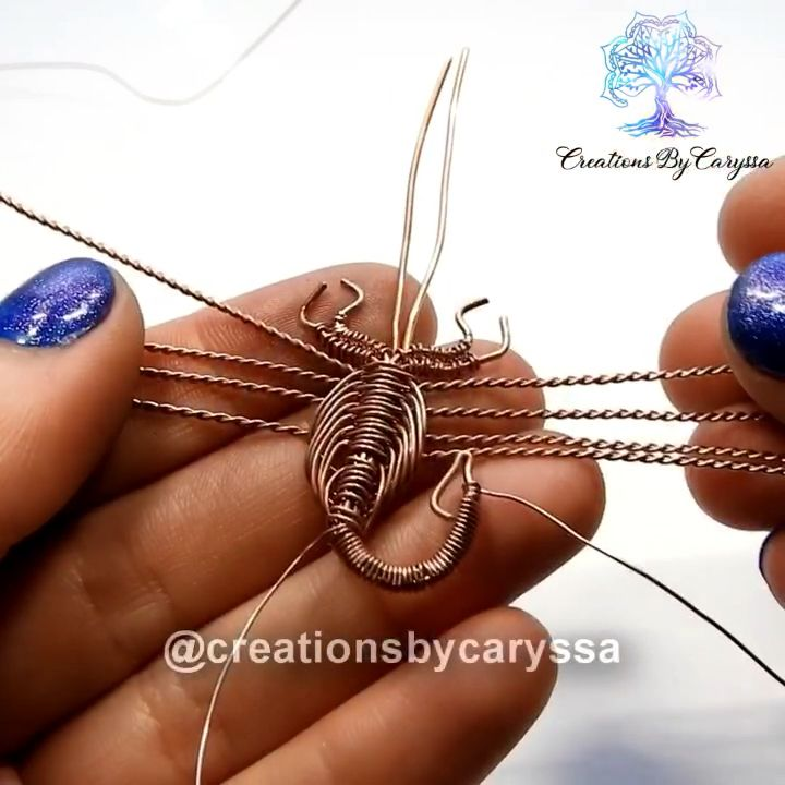 Photo of Scorpion wire jewelry Tutorial