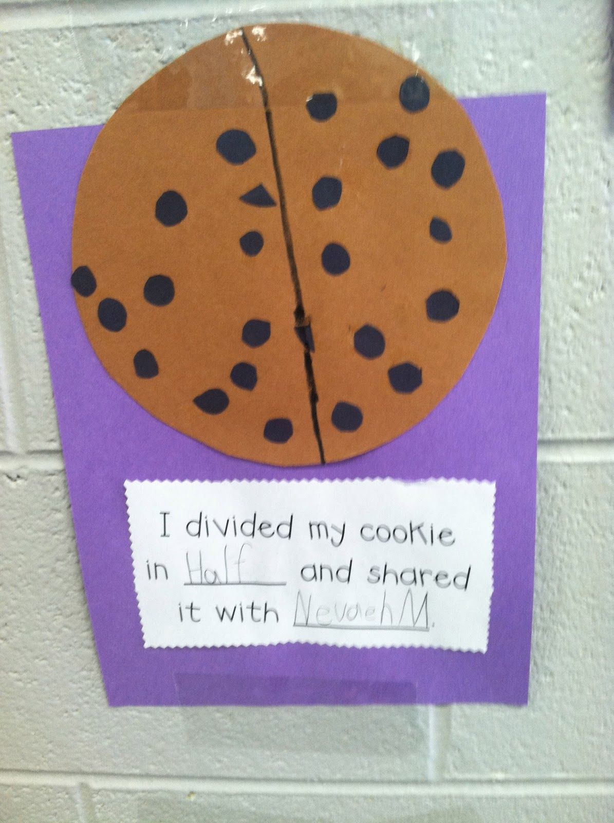 Sweet Fraction Idea! Thank You Life in First Grade! Adapt for ...