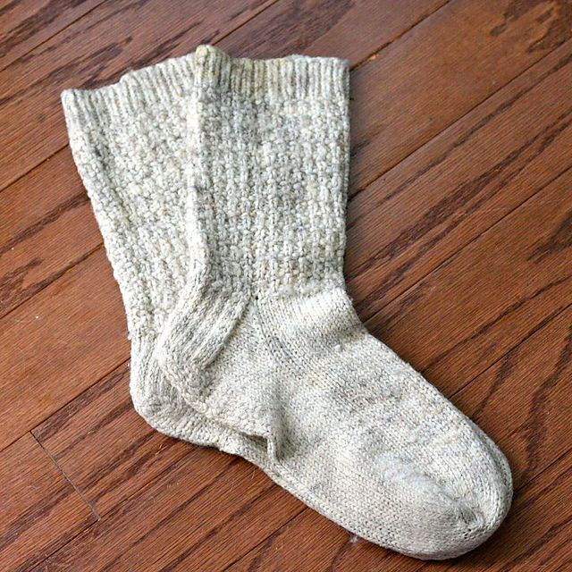Wool-Ease Basic Socks pattern by Emily Ivey | Knitting & Fibers ...