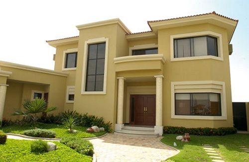 30 dise os construidos de fachadas de casas de dos plantas - Disenos de casas de dos plantas ...
