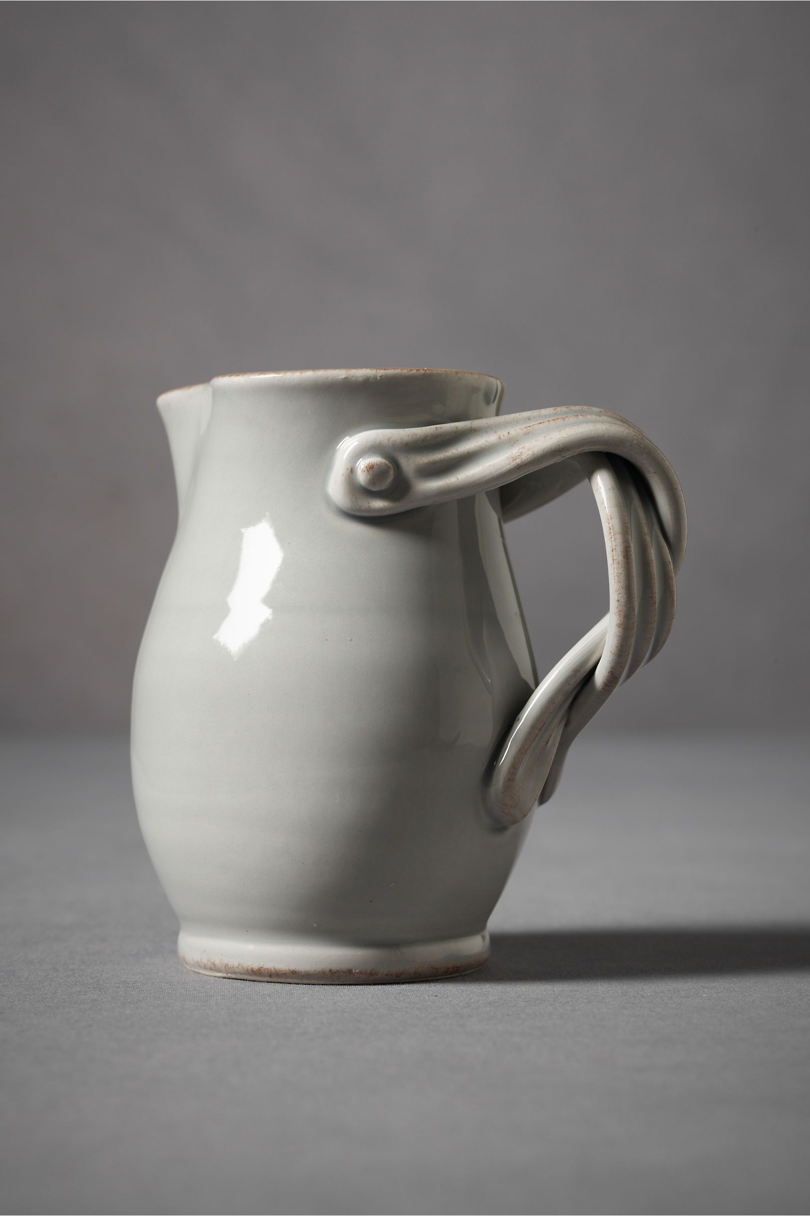 Twisted Suspenders Pitcher Sweet Handle, Must Be From A Commercial Pottery,  Site Just Says Handmade In Italy. Iu0027m Seeing It Holding Daisies And Forget  Me ...