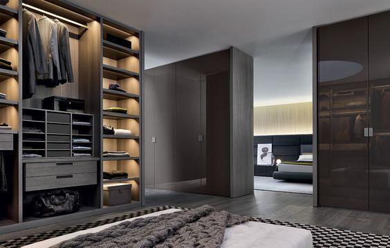 Begehbare Kleiderschranke Fur Manner Closets And Shelves