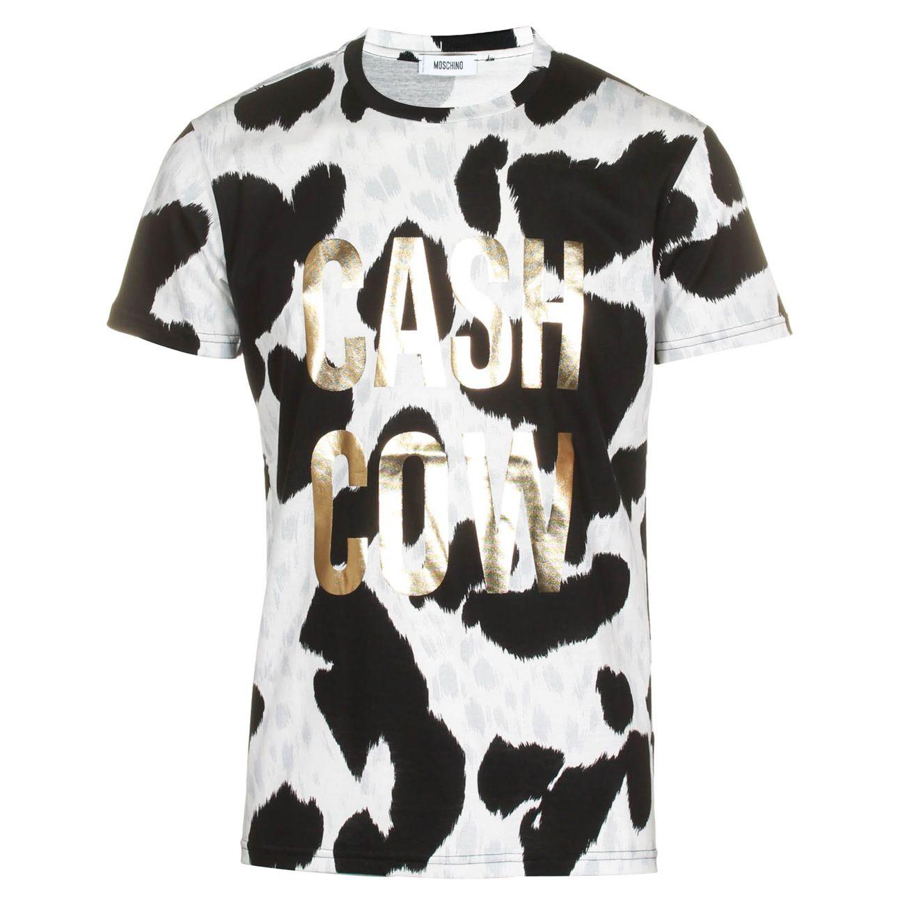 Buy Cow Print T Shirt 50 Off