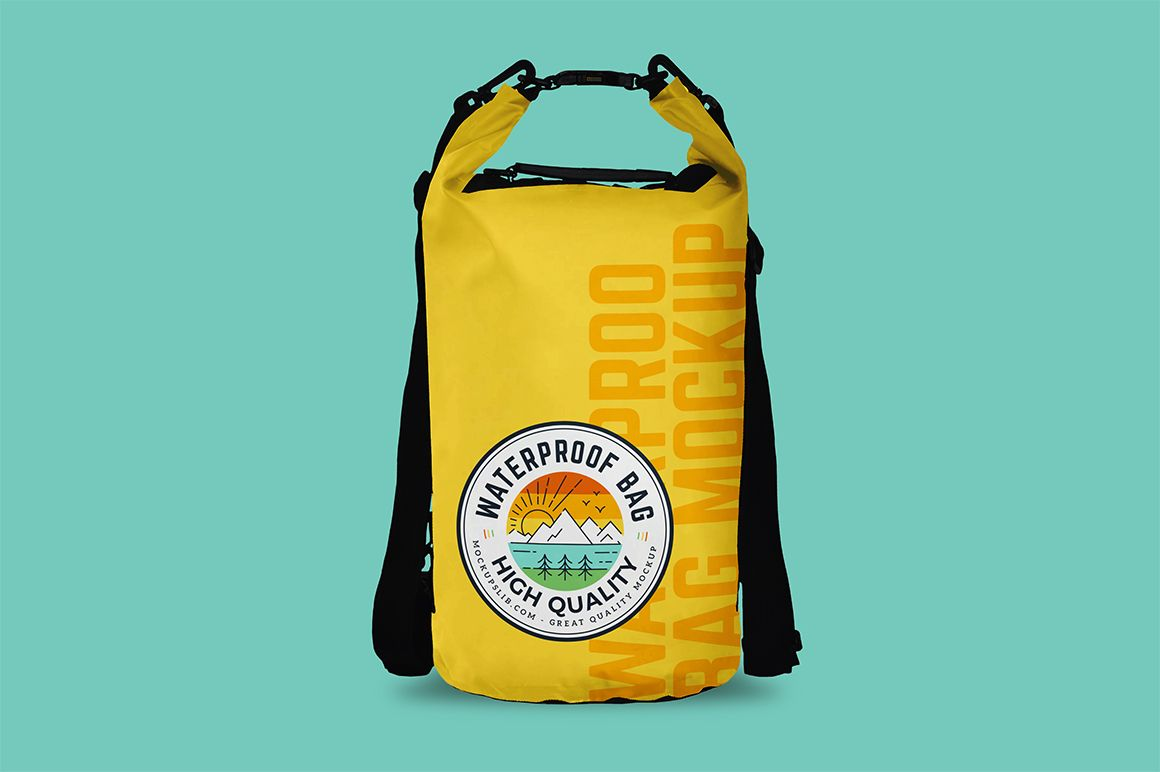 Download Waterproof Bag Mockup Mockupslib Bag Mockup Waterproof Bags Bags Designer