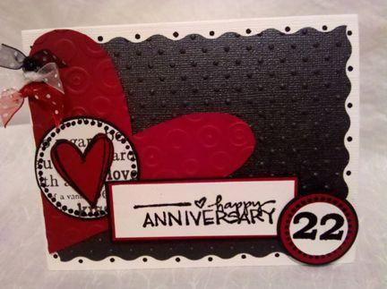 Happy 22nd Anniversary Belinda and Frank
