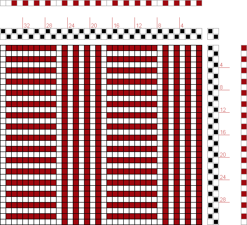 Hand Weaving Draft: Figure 1690, A Handbook of Weaves by G. H. Oelsner, 2S, 2T - Handweaving.net Hand Weaving and Draft Archive