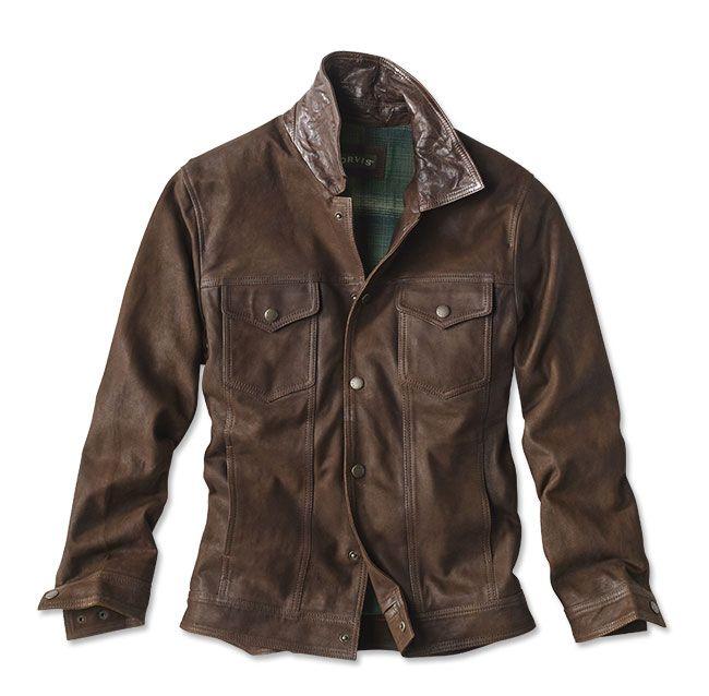 997f1e20109ba Orvis suede trucker jacket – Artofit