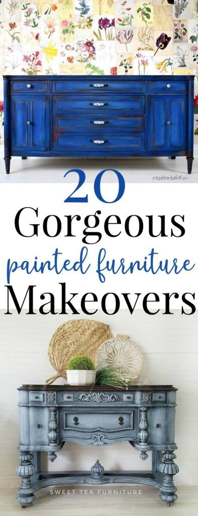 20 Furniture Makeovers That Will Blow Your Mind! - Just Life And Coffee #furnitureredos
