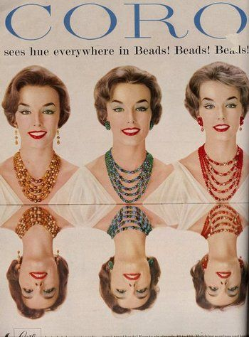 sc 1 st  Pinterest & Costume jewelry ads from 1958