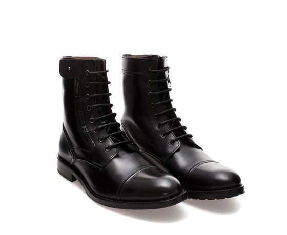 Image ZaraFashion 4 From Military Style Mens Boot Of lF31J5cTKu