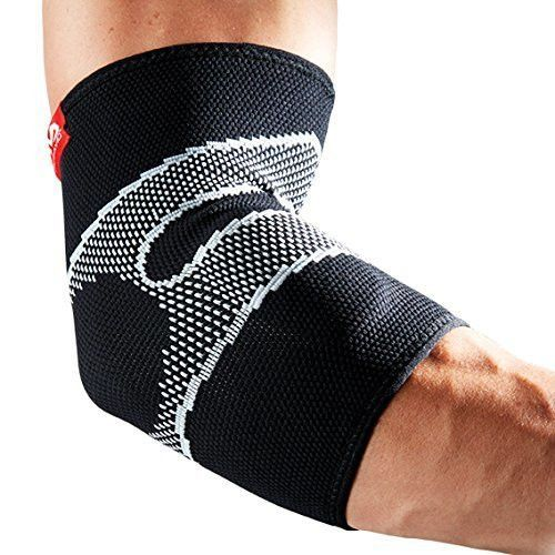 McDavid 5130 Level 2 4 Way Elastic Elbow Sleeve with Gel Buttress, Medium