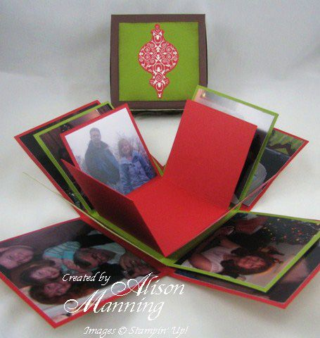 Scrapbook In A Box Paper Crafting Pinterest Scrapbook Box And