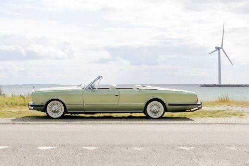 1973 Rolls-Royce Phantom VI Drophead Coupe by Frua