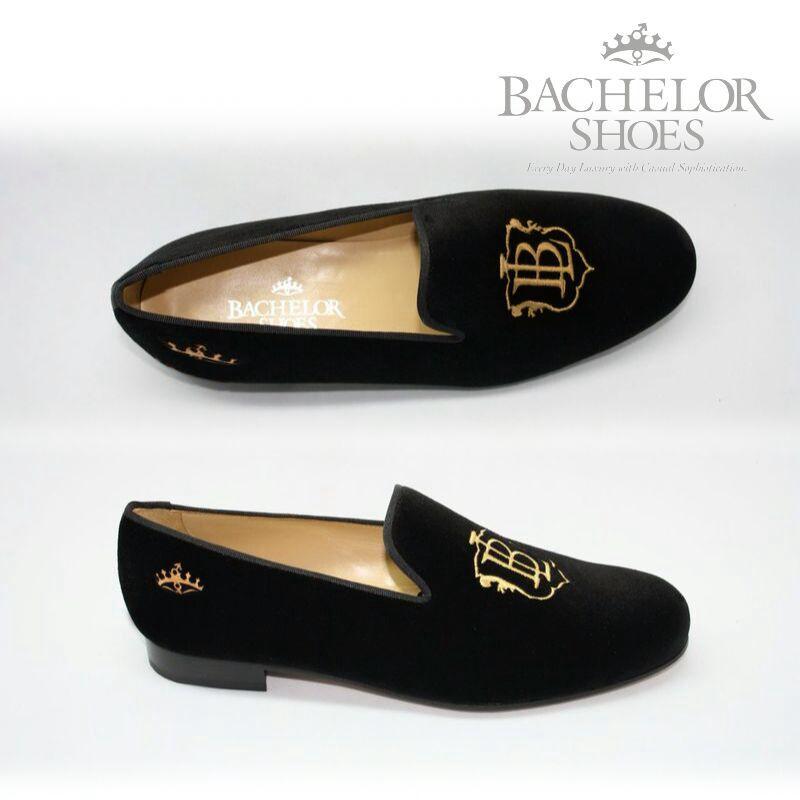 3e454ddea968 Bachelor Shoes velvet slippers