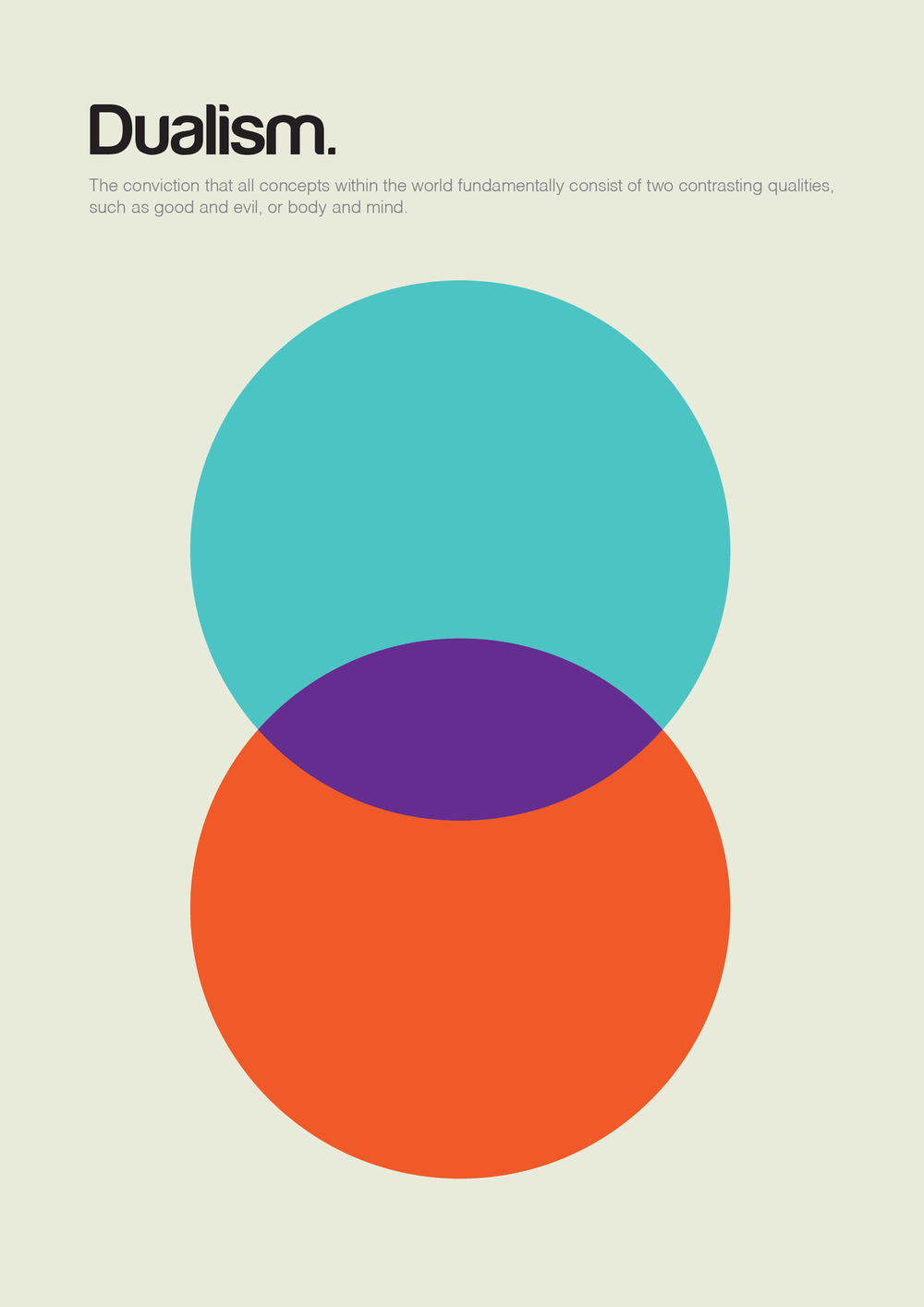 Philographics Or Big Ideas In Simple Shapes By Genis Carreras Minimalist Poster Design Basic Shapes Minimalist Poster