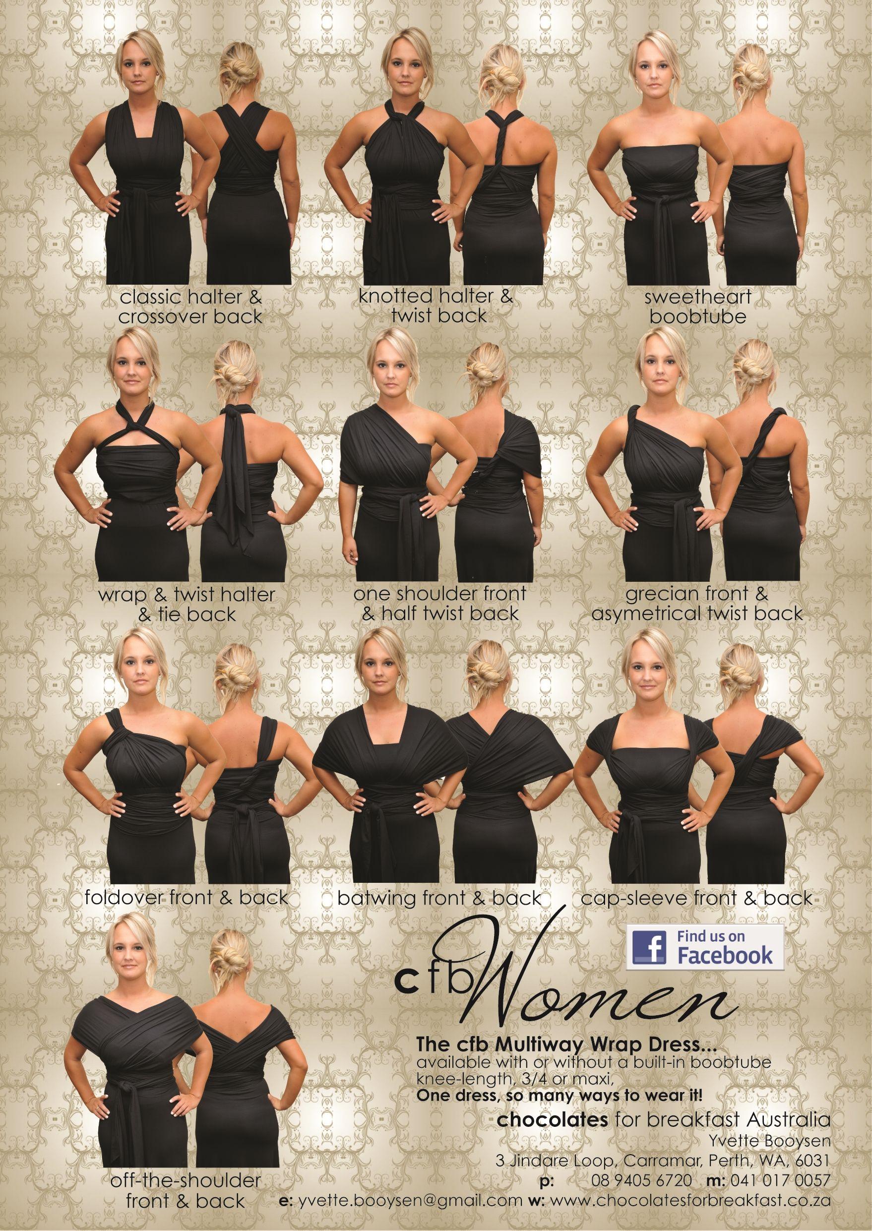 One Dress So Many Ways To Wear It
