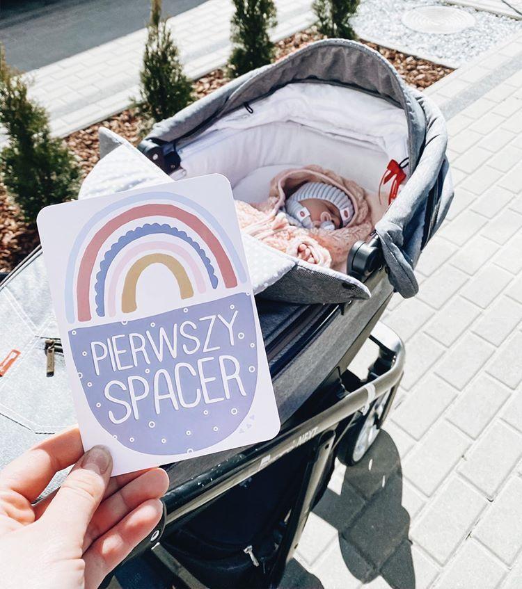 Karty Do Zdjec Eko Moj Pierwszy Rok Baby Strollers Stroller Children
