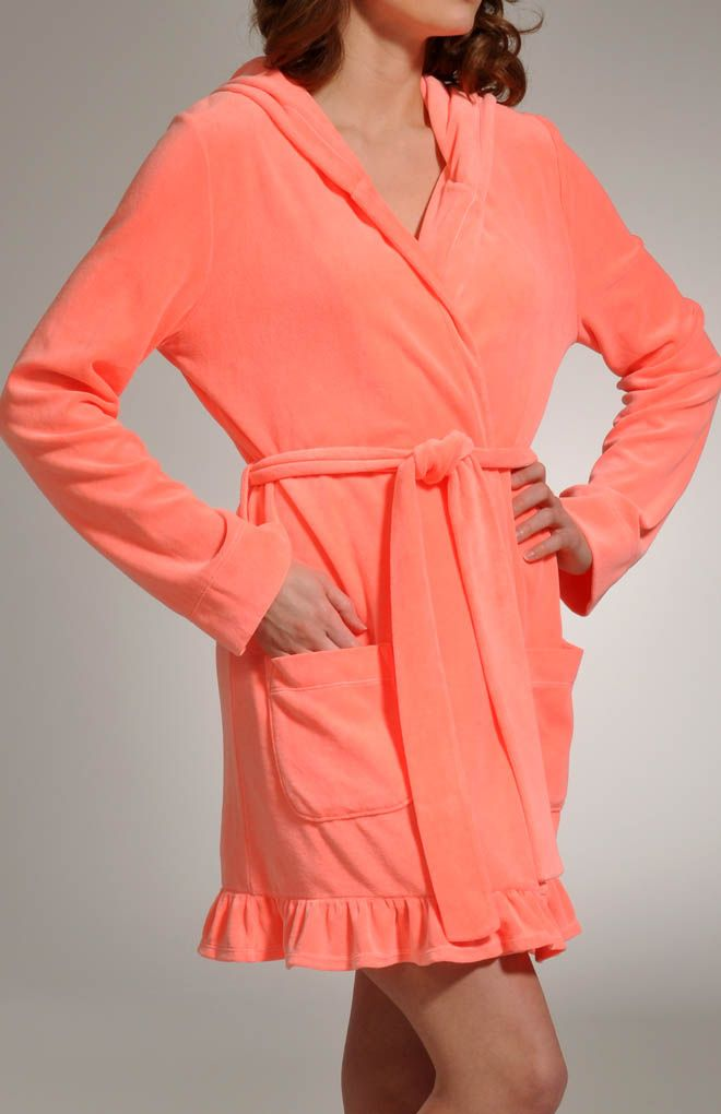 Juicy Couture Turned On Velour Robe. Perfect for out the shower ...