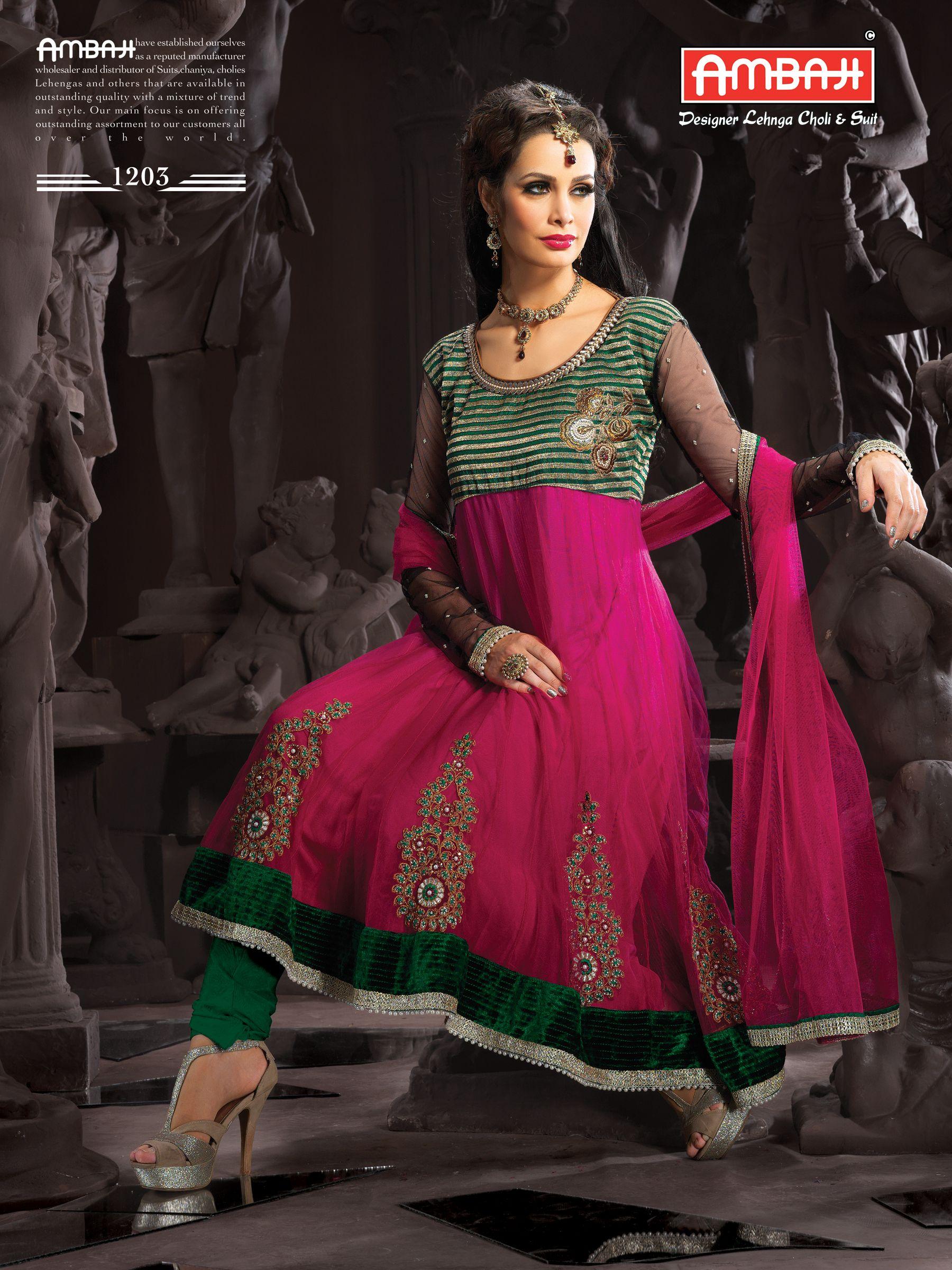 4ff7354b1b Ambaji creation product code :- 1203 Salwar Suite pink Color , net  Dupatta-Fabrics , net Top -Febrics , Dhupion Choli-Fabrics , santoon  Lininig , contect ...