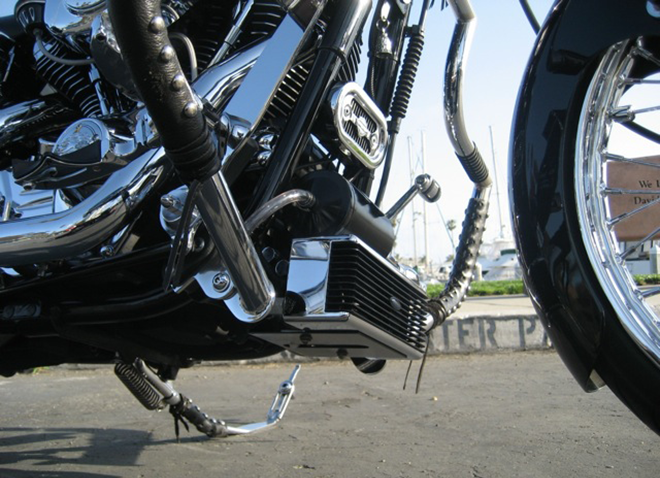 Harley Oil Cooler - Ultracool - Oil Cooling Systems for V-Twins Motorcycles