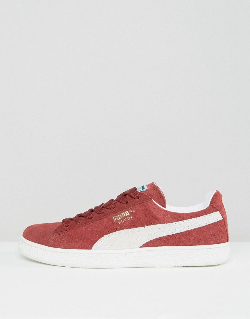 Puma Suede Classic + Sneakers In Red 35263475 - Red