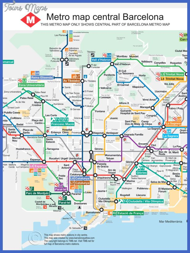 Subway Map Barcelona.Nice Barcelona Subway Map Tours Maps Pinterest Barcelona