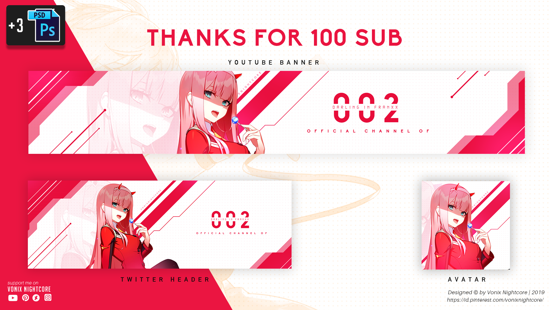 Thanks For 100sub Youtube Banners Youtube Banner Backgrounds Banner