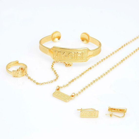 26+ Childrens gold jewelry sets ideas